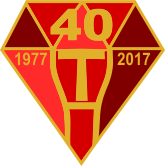 TRA 40th Anniversary Pin Badge